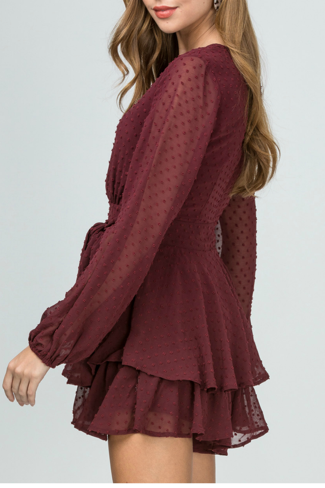 Entro Dotted-swiss romper - Front Full Image