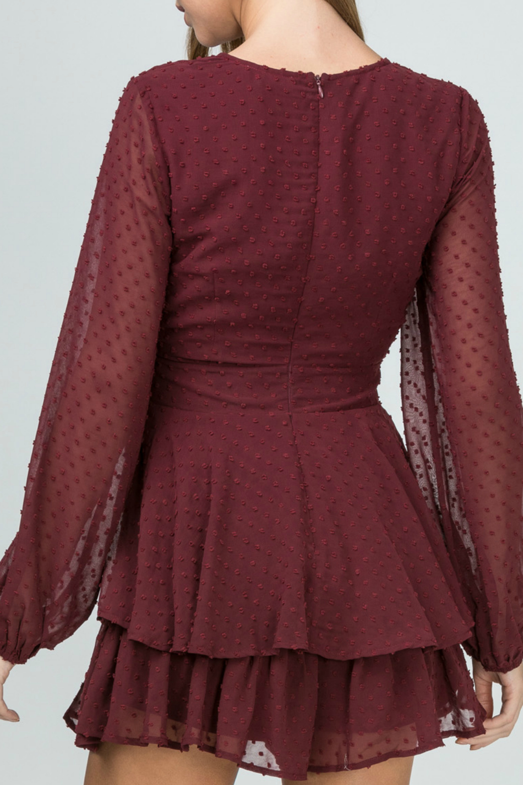 Entro Dotted-swiss romper - Side Cropped Image
