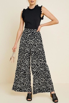 Hayden Los Angeles Dotted Wide-Leg Pant - Product List Image