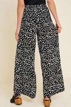 Hayden Los Angeles Dotted Wide-Leg Pant - Alternate List Image