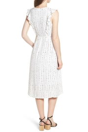 Lost + Wander Dottie Ruffle Midi - Front full body