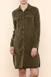 Double Agent Military Style Dress - Product Mini Image