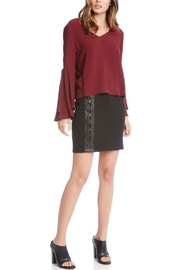 Fifteen Twenty Double Bell-Sleeve Top - Front full body