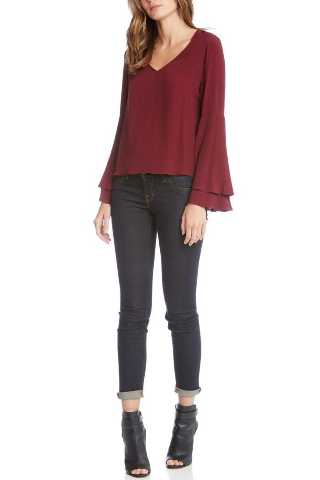 Fifteen Twenty Double Bell-Sleeve Top - Main Image