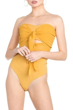 Dance and Marvel Double Bow Bodysuit - Product List Image