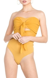 Dance and Marvel Double Bow Bodysuit - Product Mini Image