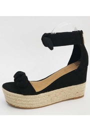 Bamboo Double Bow Espadrille - Product Mini Image