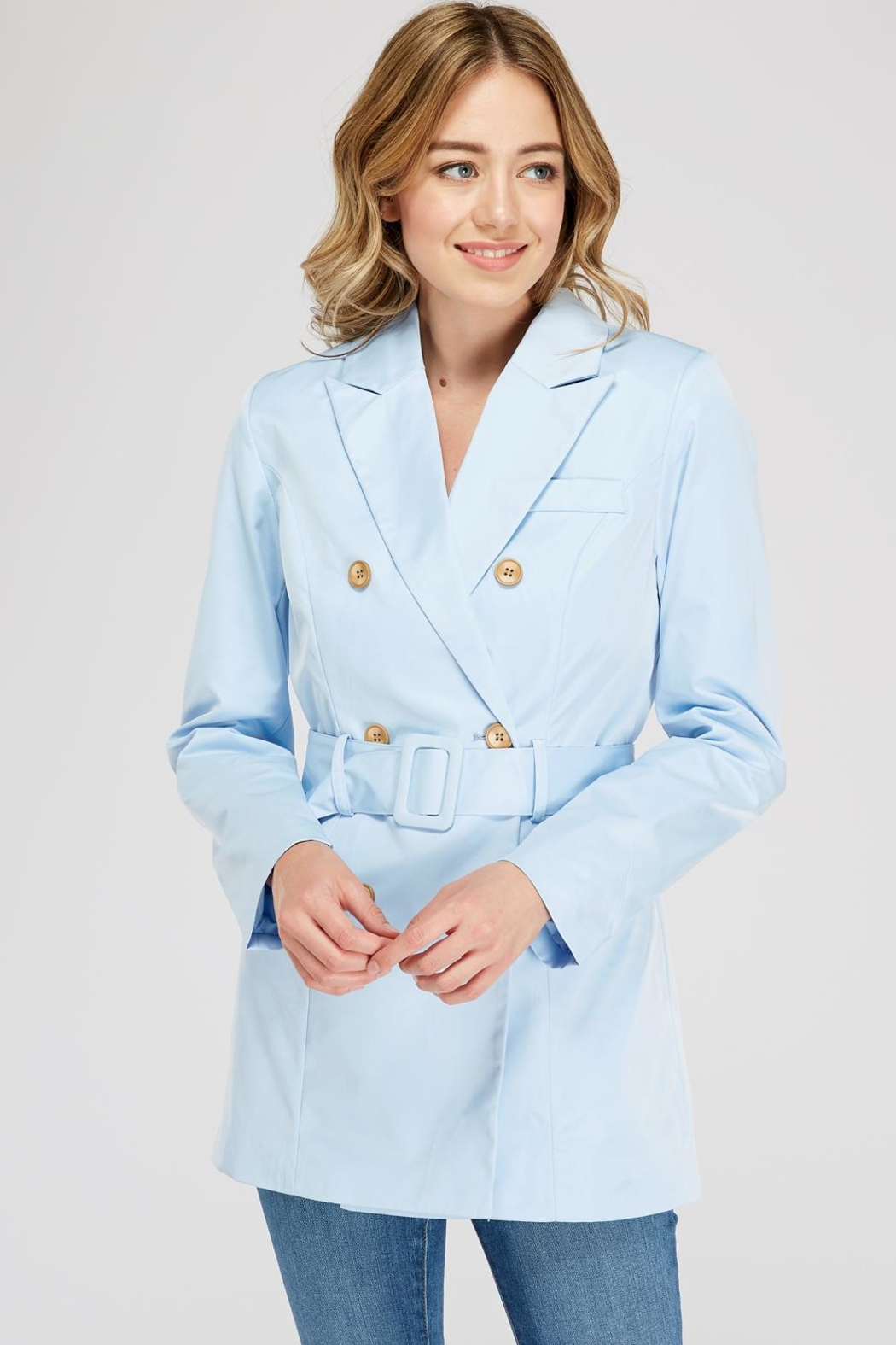 On Twelfth Double-Breasted Blazer Dress - Main Image