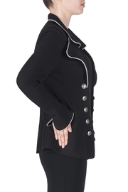Joseph Ribkoff Double Breasted Jacket - Front full body