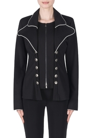 Joseph Ribkoff Double Breasted Jacket - Front cropped