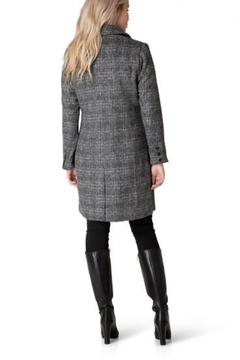 Yest  Double Breasted Plaid Coat - Alternate List Image