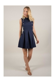 Molly Bracken Double Button Dress - Front cropped
