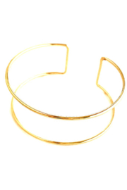 CV DESIGNS Double Cuff Bracelet - Front cropped