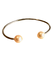 Maui Ocean Jewelry Double Edison Pearl Cuff - Product Mini Image