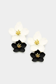 Wild Lilies Jewelry  Double Flower Earrings - Product Mini Image