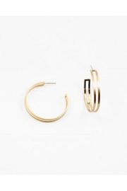 AL Boutique Double Hoop Earring - Product Mini Image