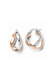 CDO  Double Hoop Earrings - Product Mini Image