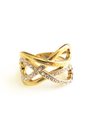 Malia Jewelry Double Infinity Ring - Front cropped