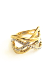 Malia Jewelry Double Infinity Ring - Front full body