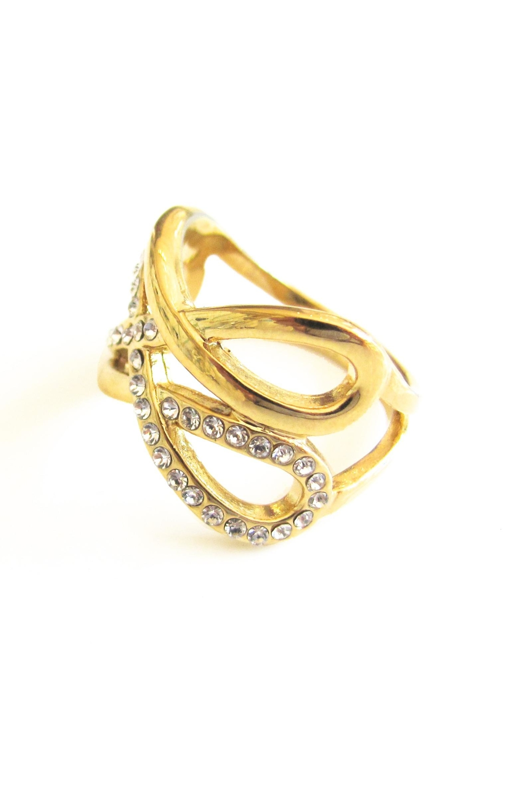 Malia Jewelry Double Infinity Ring - Side Cropped Image