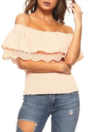 Lizette Double Layer Off-Shoulder - Product Mini Image