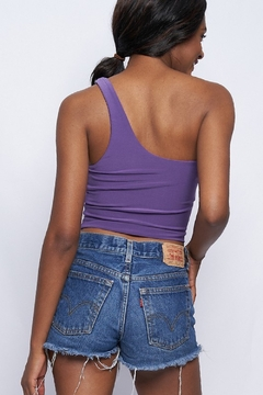 Better Be Double Layer One Shoulder Crop - Alternate List Image