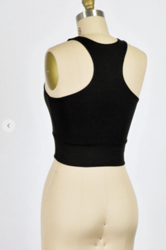 Final Touch Double Layer Rayon Modal Jersey Crop - Alternate List Image