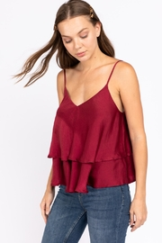 Le Lis Double Layer Satin Cami - Front full body
