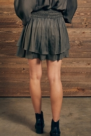 Mustard Seed Double Layer Skirt - Side cropped