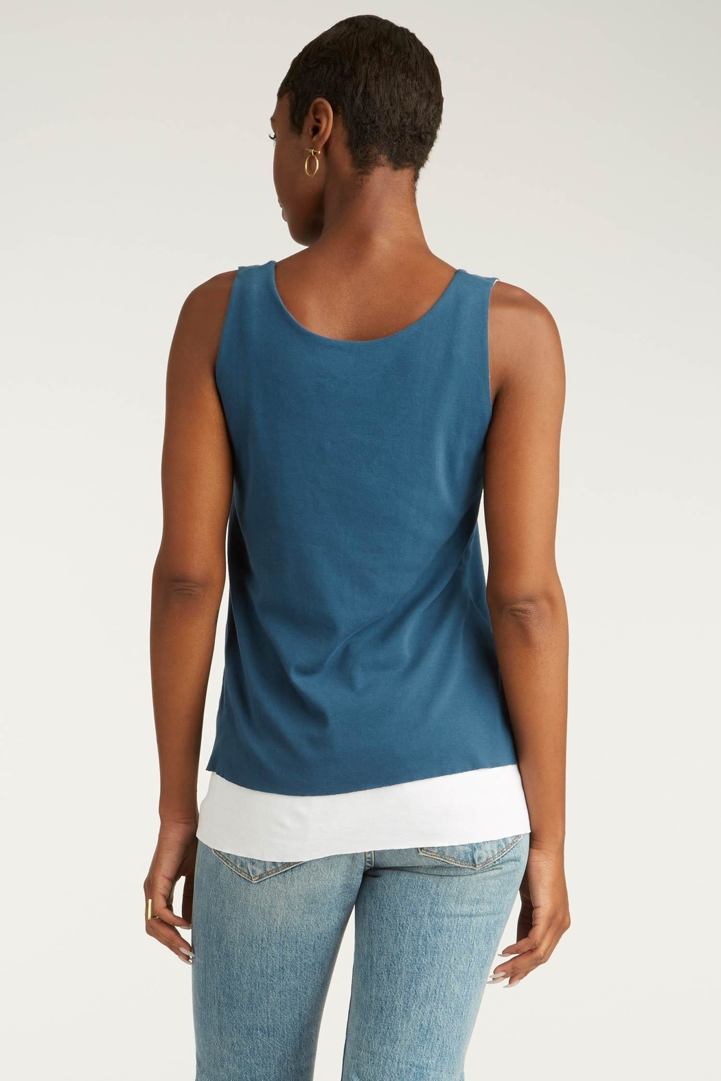 Indigenous Double Layer Tank - Side Cropped Image