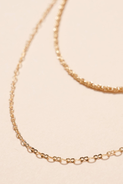 Sideline Chic Double Layered Necklace - Alternate List Image