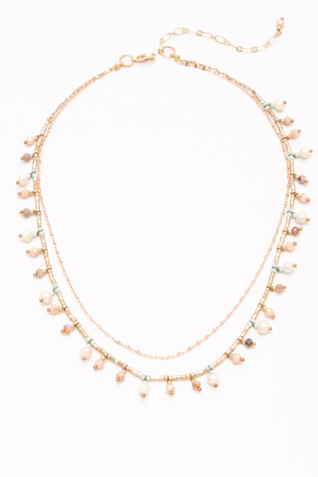 Nakamol  Double Layered Necklace - Front Cropped Image