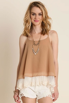 Shoptiques Product: Double Layered Tank-Top