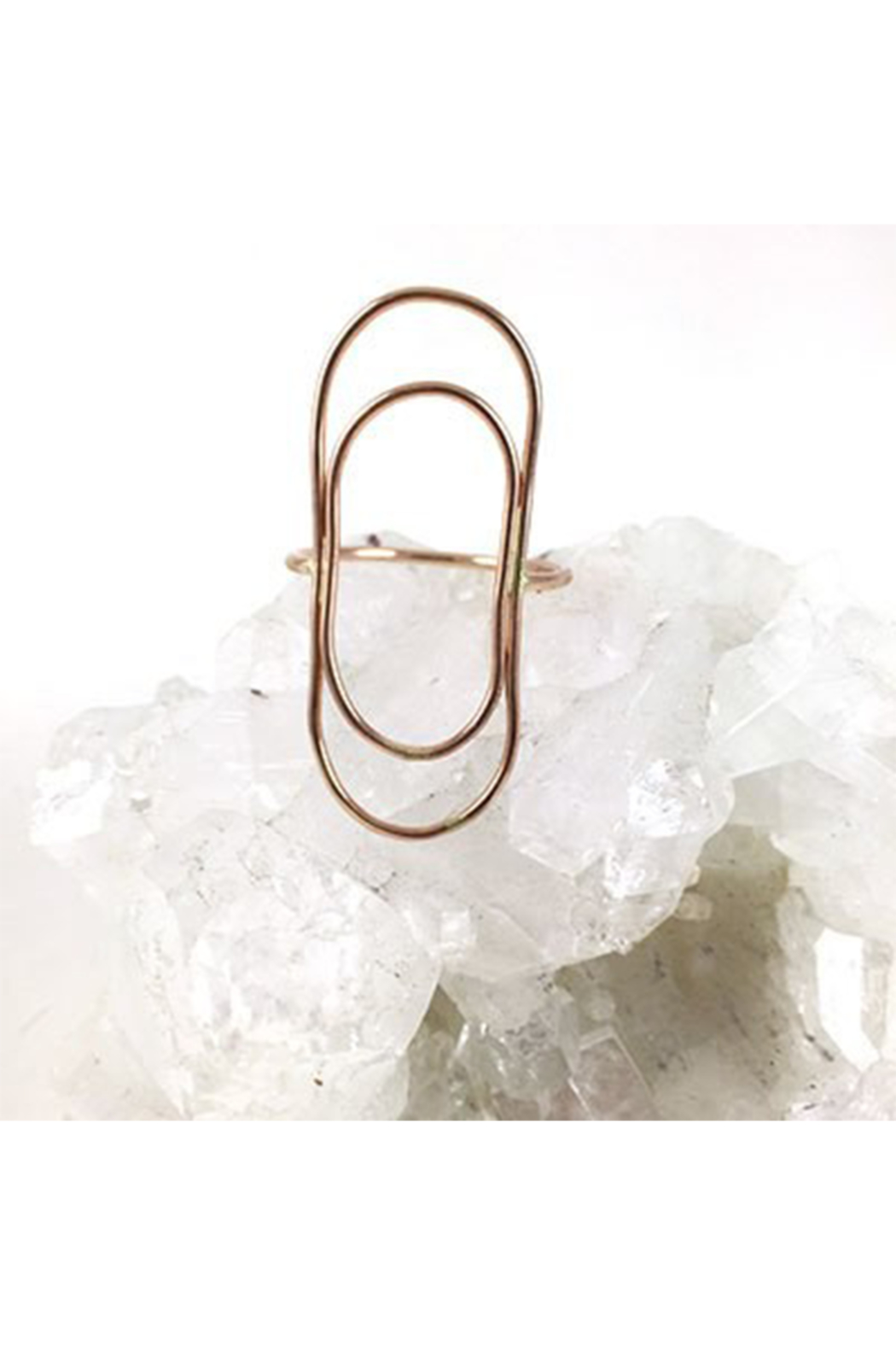 Mineral + Matter Double Loop Ring - Main Image