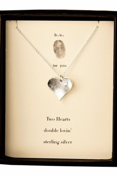 b.u. Jewelry Double Lovin' Necklace - Alternate List Image