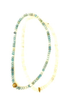 The Woods Fine Jewelry  Double Necklace Turquoise - Alternate List Image