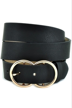 Stonesthrow Boutique Double O Ring Belt (more colors) - Alternate List Image