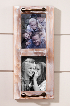 Giftcraft Inc.  Double Picture Frame - Alternate List Image