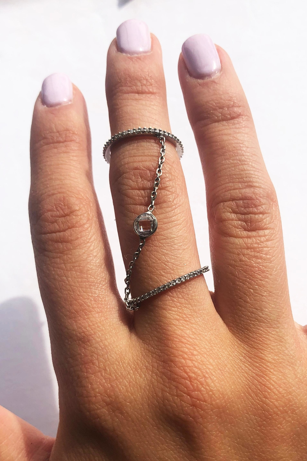 Lets Accessorize Double Ring - Front Full Image