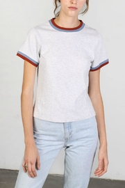 Mod Ref Double Ringer Tee - Front cropped