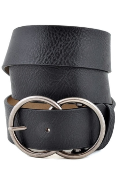 Shoptiques Product: Double Round Buckle