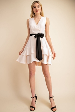 Gilli  Double Ruffle Dress - Product List Image