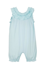 Feather Baby Double Ruffle Romper - Front cropped