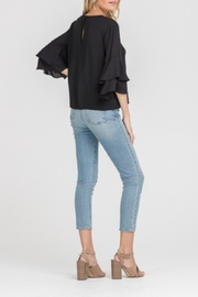 Lush Double Ruffle Top - Side cropped