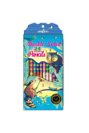 Eeboo Double-Sided 24 Pencils - Product Mini Image