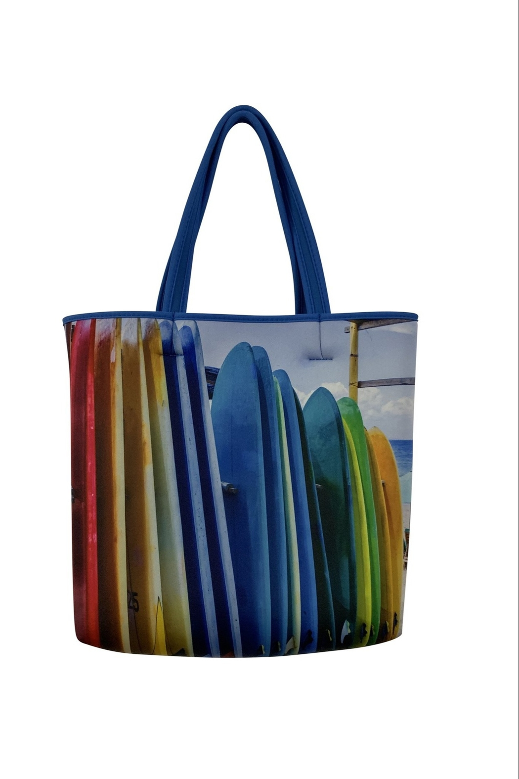 Ah!dorned Double Sided Print Neoprene Tote - Front Cropped Image