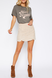 Sadie and Sage Double Slit Skirt - Product Mini Image