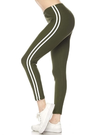 New Mix Double Stripe Legging - Product Mini Image