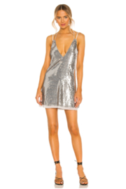 Free People  Double Take Sequin Mini - Front cropped