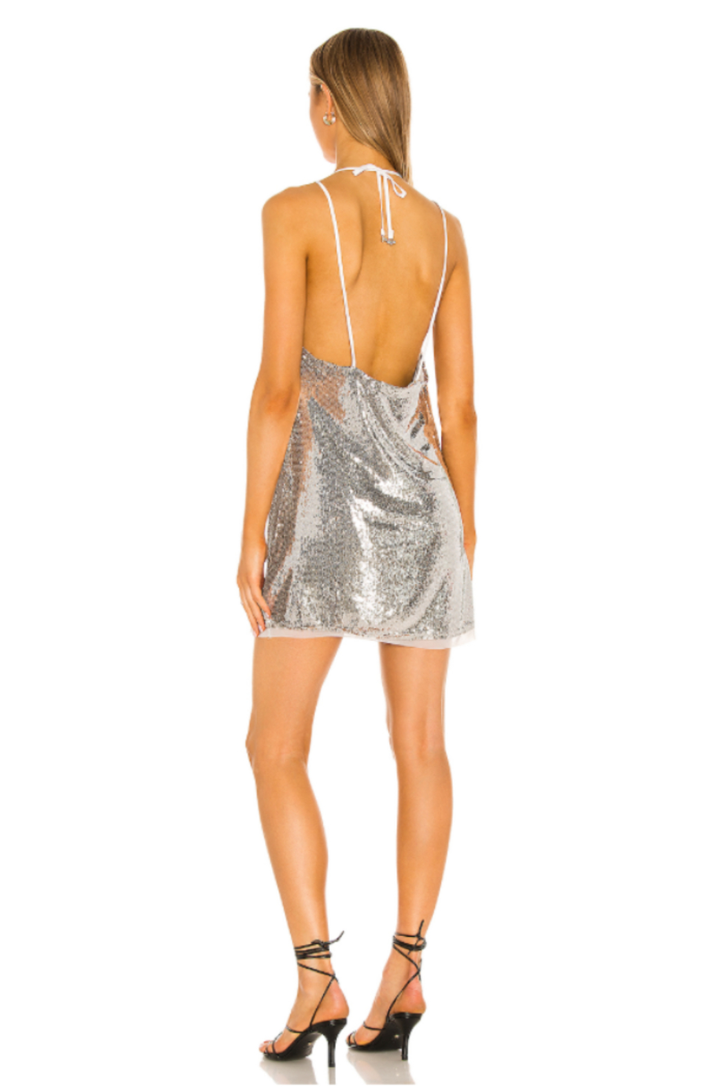 Free People  Double Take Sequin Mini - Side Cropped Image